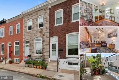 1427 Lowman Street, Baltimore, MD 21230 - #: 1009671908