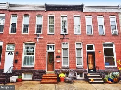 1741 Covington Street, Baltimore, MD 21230 - #: 1009907948