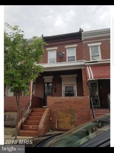 521 Curley Street N, Baltimore, MD 21205 - MLS#: 1009908196