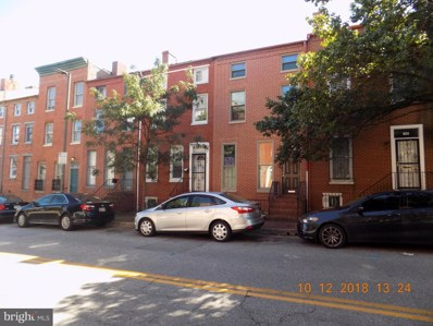 829 W Lombard Street, Baltimore, MD 21201 - MLS#: 1009908956