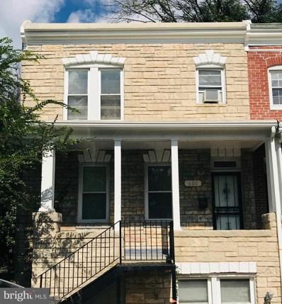 600 Montpelier Street, Baltimore, MD 21218 - MLS#: 1009910572