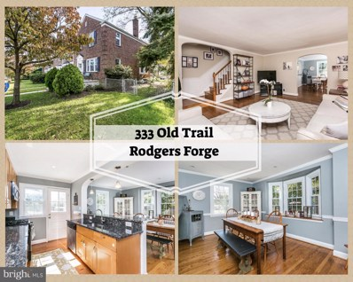 333 Old Trail Road, Baltimore, MD 21212 - MLS#: 1009911850