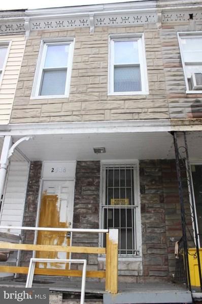 2544 Druid Hill Avenue, Baltimore, MD 21217 - #: 1009918612