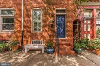 1808 Bank Street, Baltimore, MD 21231 - #: 1009919092