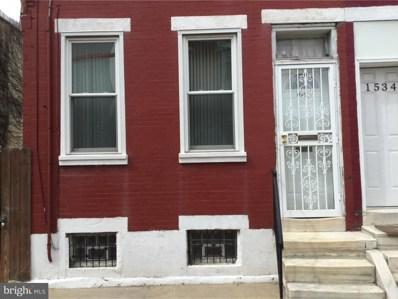 1536 S Capitol Street, Philadelphia, PA 19146 - MLS#: 1009928808