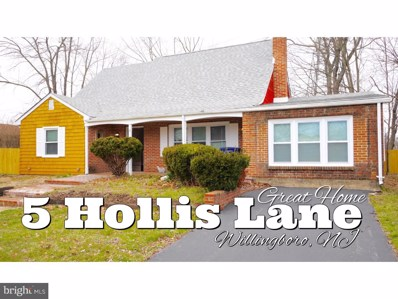 5 Hollis Lane, Willingboro, NJ 08046 - MLS#: 1009929464