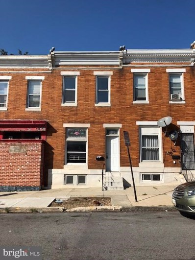 2144 W Lexington Street, Baltimore, MD 21223 - MLS#: 1009932432