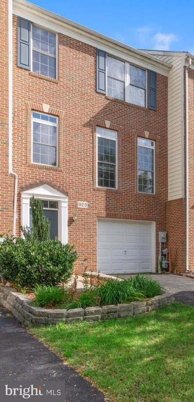 923 Arkblack Terrace, Odenton, MD 21113 - MLS#: 1009934366