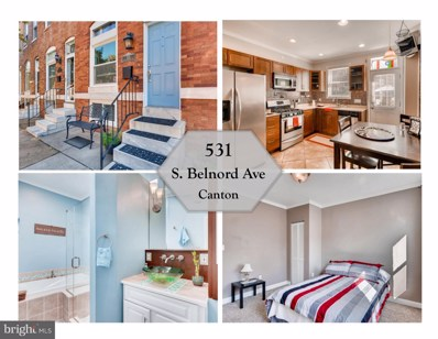 531 S Belnord Avenue, Baltimore, MD 21224 - MLS#: 1009935822