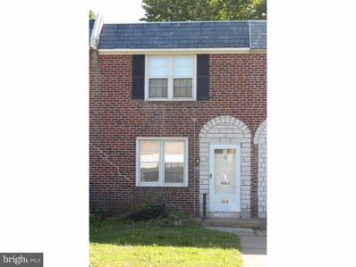 214 Tribet Place, Darby, PA 19023 - MLS#: 1009941050
