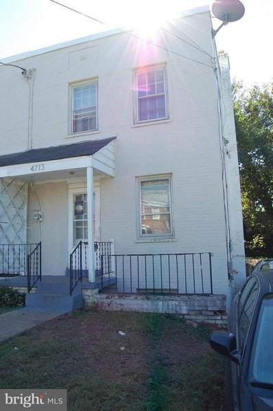 4713 B Street SE, Washington, DC 20019 - #: 1009941246