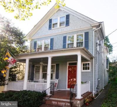 23 Thompson Street, Annapolis, MD 21401 - #: 1009950080