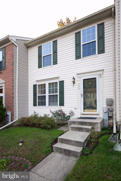 934 Chestnut Wood Court, Chestnut Hill Cove, MD 21226 - MLS#: 1009954478