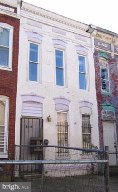 2119 Christian Street, Baltimore, MD 21223 - MLS#: 1009963296