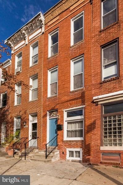 2242 E Fairmount Avenue, Baltimore, MD 21231 - #: 1009976230