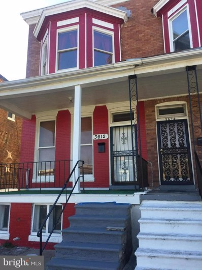 3612 Park Heights Avenue, Baltimore, MD 21215 - #: 1009979510