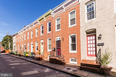 414 Sanders Street, Baltimore, MD 21230 - #: 1009984686