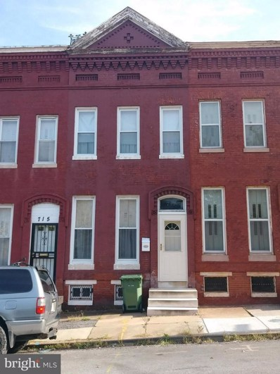 717 Lanvale Street, Baltimore, MD 21217 - #: 1009985082
