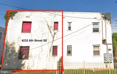 4232 6TH Street SE, Washington, DC 20032 - #: 1009985666