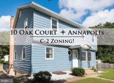 10 Oak Court, Annapolis, MD 21401 - MLS#: 1009990468
