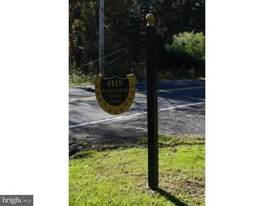 4119 Stump Road, Plumsteadville, PA 18902 - #: 1009991098