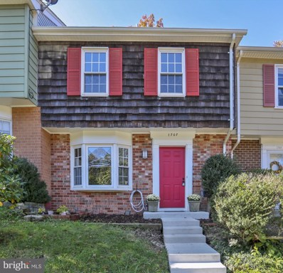 1707 Redgate Farms Court, Rockville, MD 20850 - MLS#: 1009992692