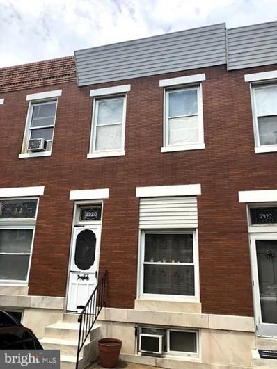 3920 Hudson Street, Baltimore, MD 21224 - #: 1009992910