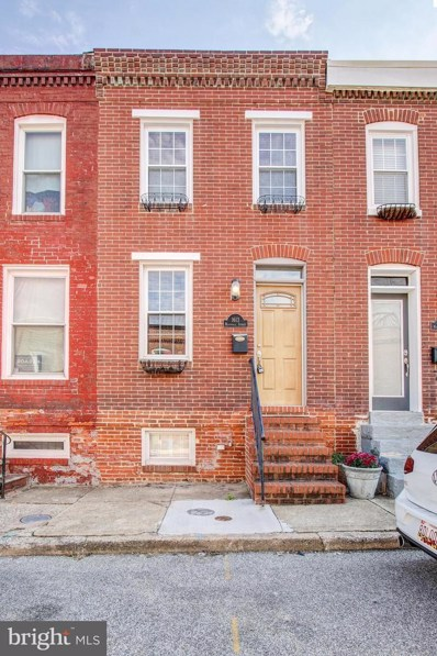 1613 Marshall Street, Baltimore, MD 21230 - #: 1009993374