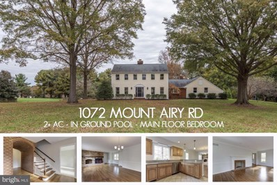 1072 Mount Airy Road, Davidsonville, MD 21035 - #: 1009994578