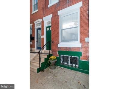 1524 N 27TH Street, Philadelphia, PA 19121 - MLS#: 1010005210