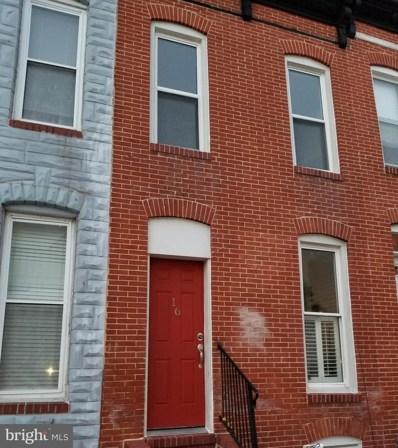 16 E Gittings Street, Baltimore, MD 21230 - #: 1010007936