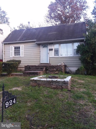 924 Balboa Avenue, Capitol Heights, MD 20743 - MLS#: 1010009968