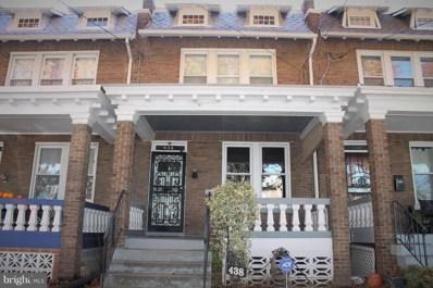 438 Jefferson Street NW, Washington, DC 20011 - MLS#: DCDC100836