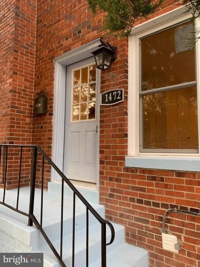 1472 Bangor Street SE, Washington, DC 20020 - #: DCDC193240