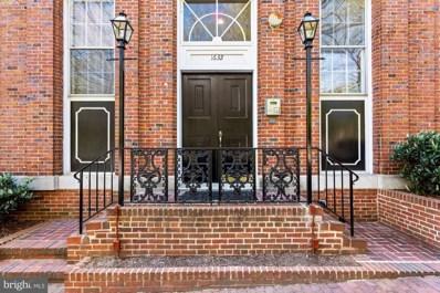 1632 30TH Street NW UNIT 8, Washington, DC 20007 - MLS#: DCDC2003864