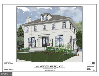4913 Upton Street NW, Washington, DC 20016 - #: DCDC2013542