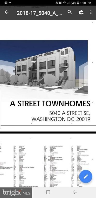 5040 A Street SE, Washington, DC 20019 - #: DCDC309212