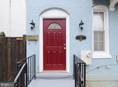 83 O Street NW, Washington, DC 20001 - MLS#: DCDC400344