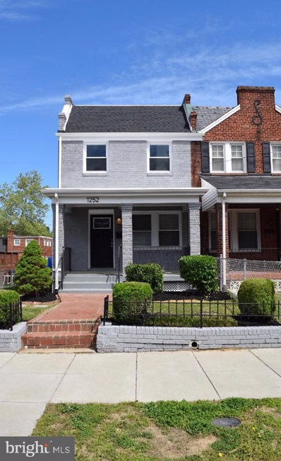 1252 Delafield Place NE, Washington, DC 20017 - #: DCDC423952