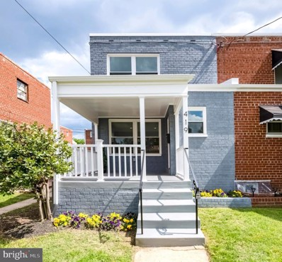 419 Kennedy Street NE, Washington, DC 20011 - #: DCDC426286