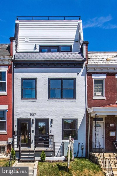 537 Gresham Place NW UNIT 1, Washington, DC 20001 - #: DCDC441052