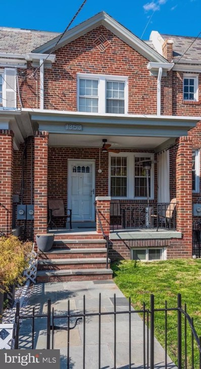 1353 NW Rittenhouse Street NW, Washington, DC 20011 - #: DCDC444612