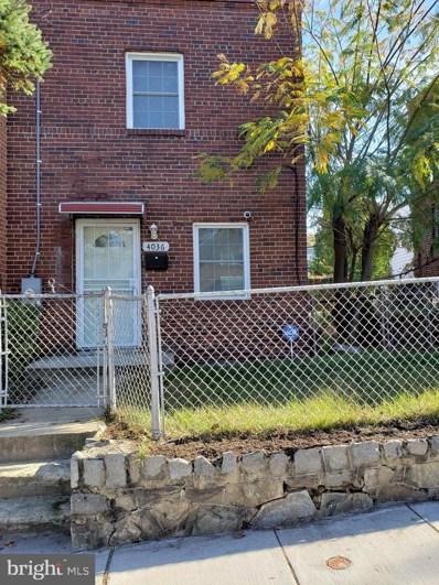 4036 1ST Street SW, Washington, DC 20032 - #: DCDC450302