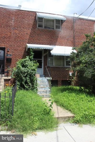 686 Oglethorpe Street NE, Washington, DC 20011 - MLS#: DCDC481762