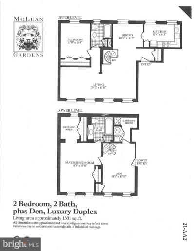 3911 Langley Court NW UNIT 560, Washington, DC 20016 - #: DCDC489884