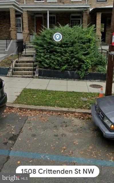 1509 Crittenden Street NW, Washington, DC 20011 - #: DCDC497904