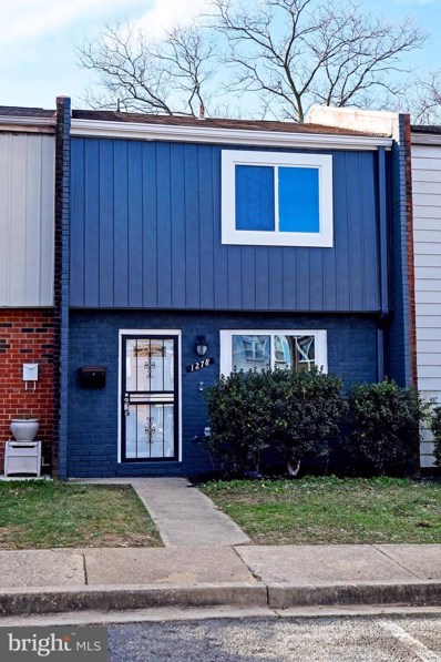 1278 Barnaby Terrace SE, Washington, DC 20032 - #: DCDC501606