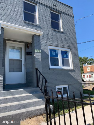 880 Yuma Street SE, Washington, DC 20032 - MLS#: DCDC510924