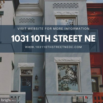 1031 10TH Street NE, Washington, DC 20002 - #: DCDC512674