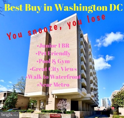 429 N Street SW UNIT S-609, Washington, DC 20024 - #: DCDC513728